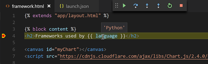How do I fix it in Python 3.9.0 Visual studio code ---ImportError: DLL load failed while... 2_DjangoTemplate2.png