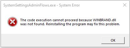 SystemsettingAdminFlow.exe - System Error 2d024a71-fac8-4d5f-91b5-da31ac0f9683?upload=true.png