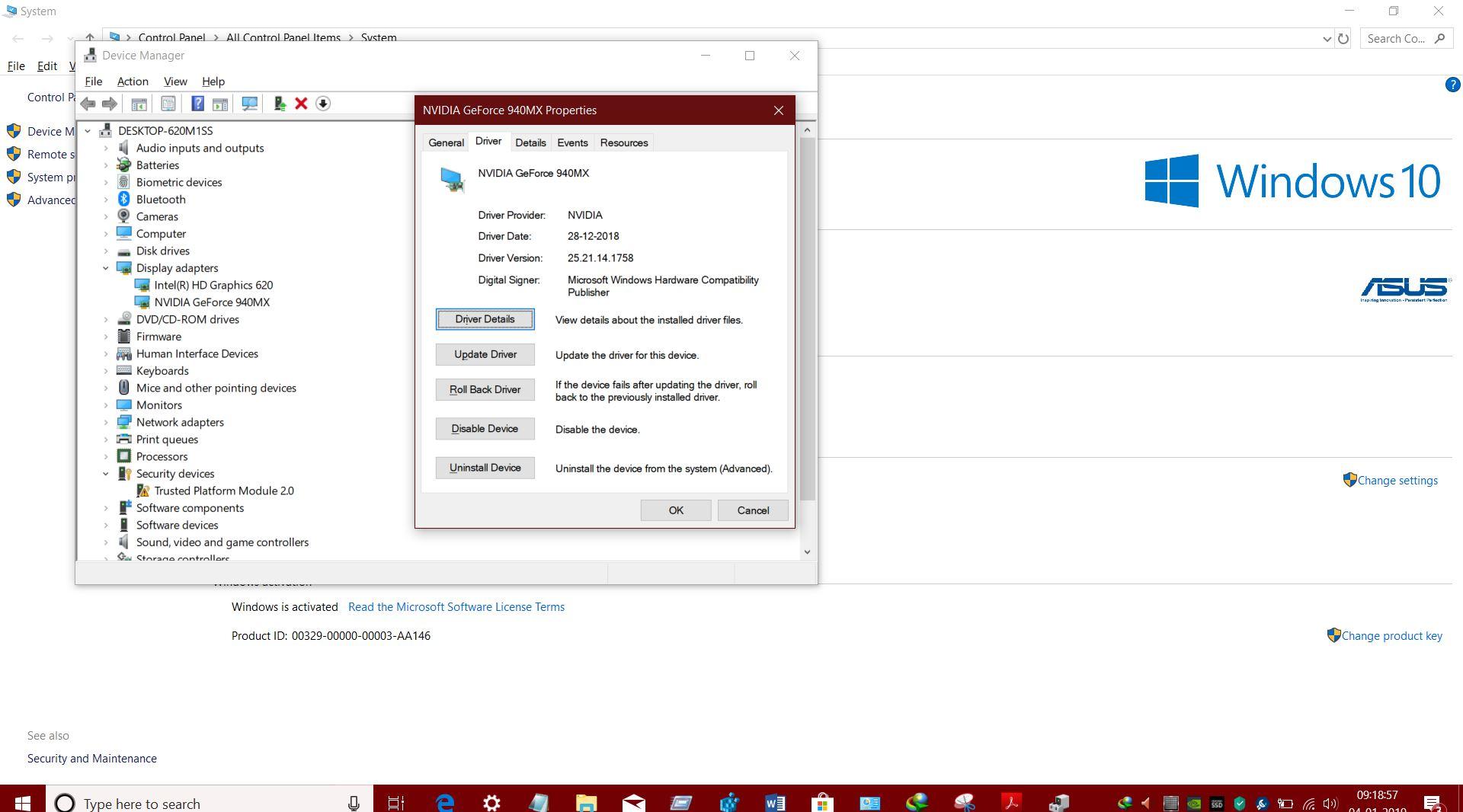 nvidia hd audio driver 1.3.38.4