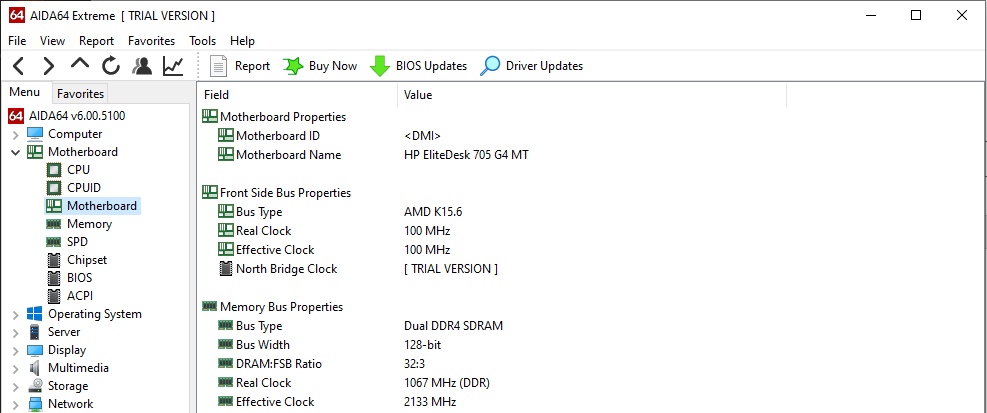 1903 update reduced RAM speed