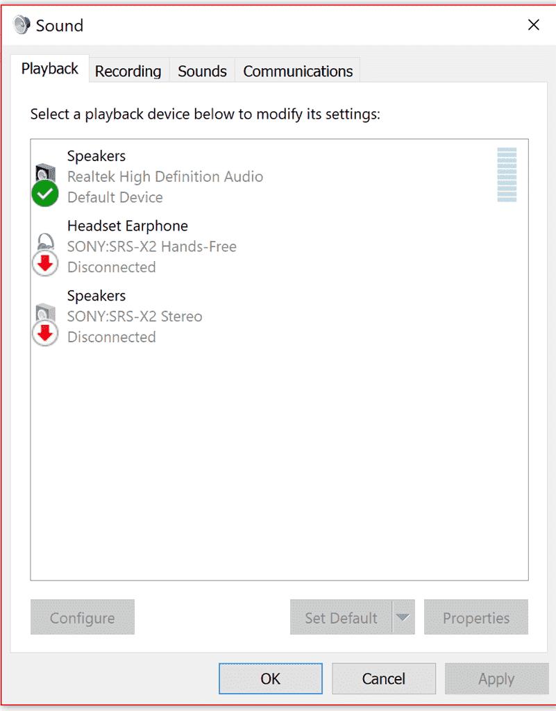 windows 10 audio jack doesnt work