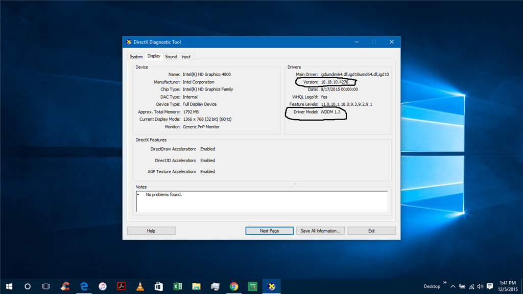 Intel HD Graphics Driver 4000 Problems with Windows