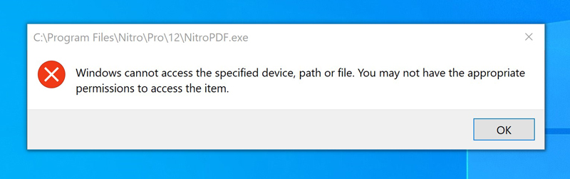 Windows cannot access the specified device, path or file....... 3026a8a2-5cda-4227-be47-f2687d4a5881?upload=true.jpg