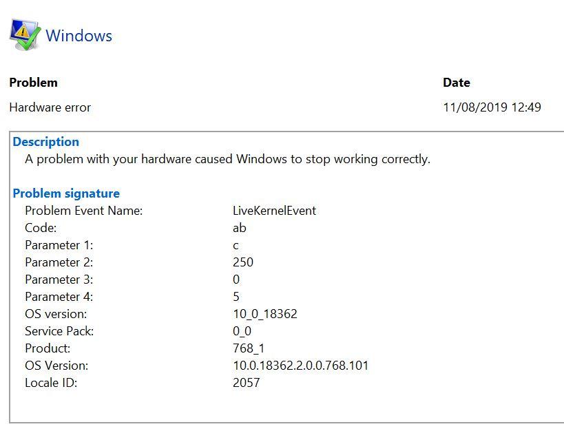 Hardware error notification? 311a879a-e134-40de-919b-28287d769a39?upload=true.jpg