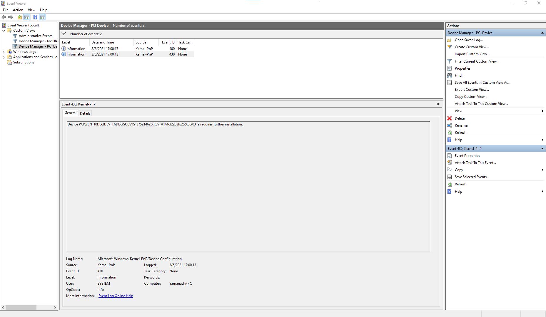 AMD Ryzen 5 3600 Code 32 316c6fd5-5372-43f2-9d60-42c2cd562092?upload=true.png
