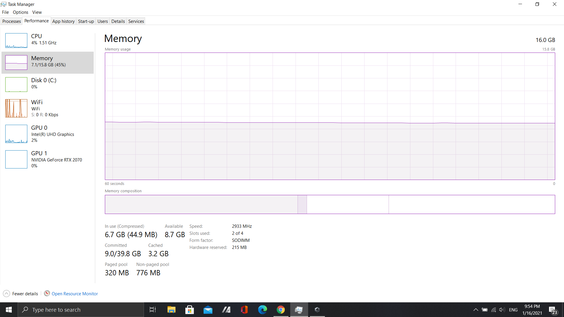 High ram usage and a 800mb in the non-paged pool 31ec2813-a94a-4e9b-9099-c66fdb24fecf?upload=true.png