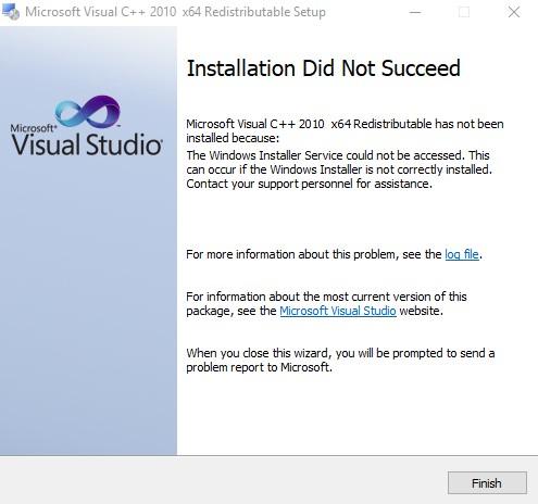 microsoft visual c++ latest version windows 10 64 bit