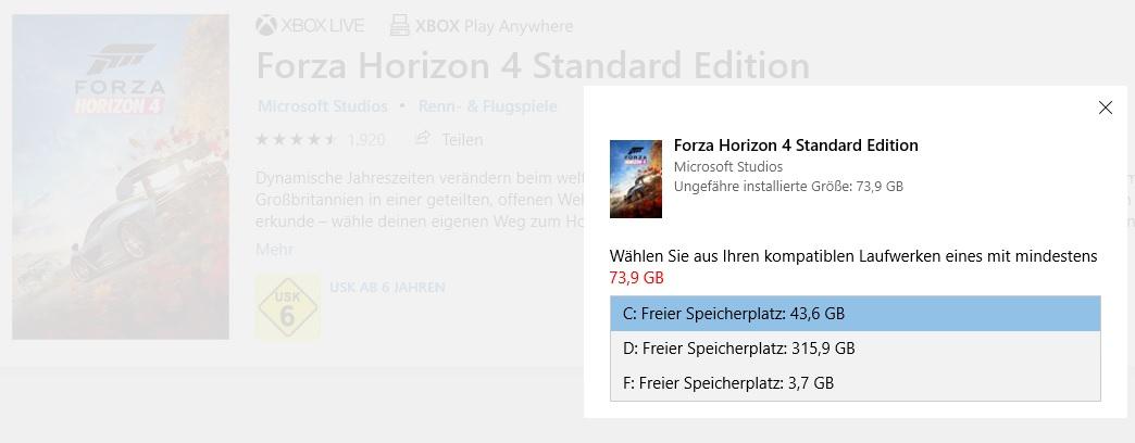 Forza horizon 4 not installable yet from Microsoft App store, please working solution 33630edb-0549-45fe-a225-c7625b630aa6?upload=true.jpg