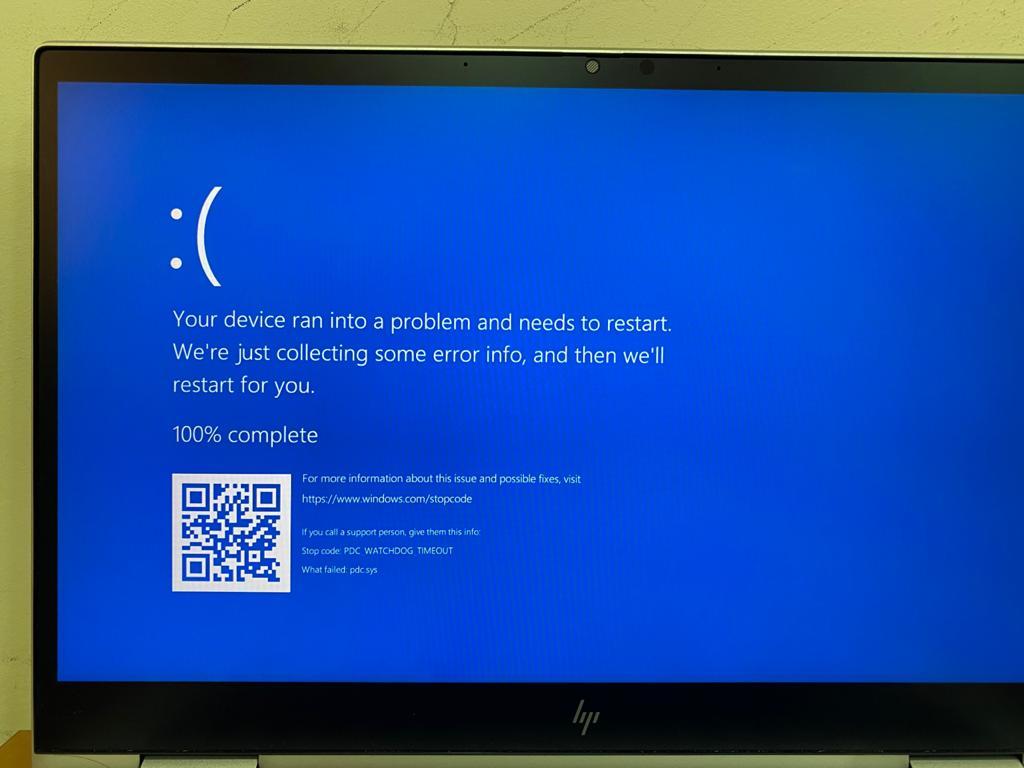 Win10 Blue Screen Error PDC WATCHDOG TIMEOUT 34ecac03-c735-4245-9796-71cf59088e1b?upload=true.jpg