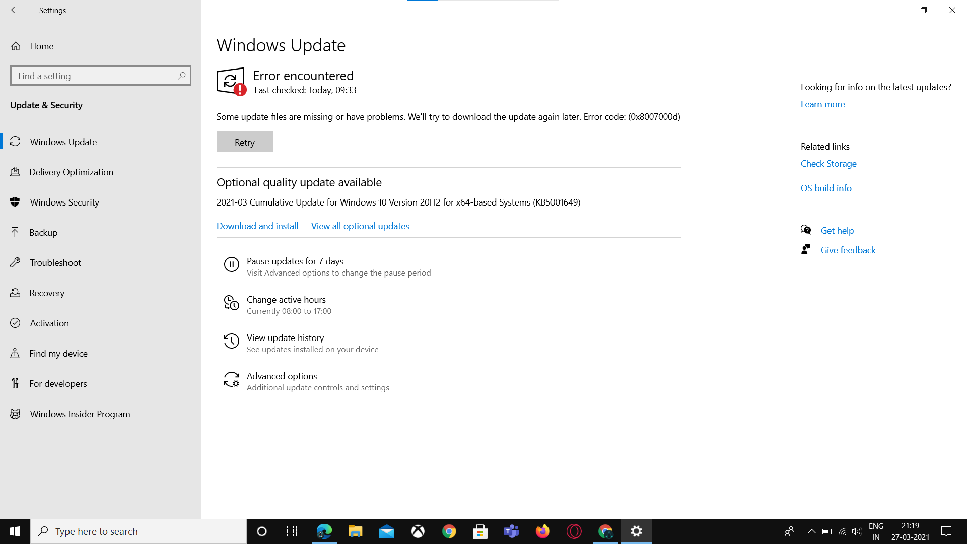 2021-03 Cumulative Update for Windows 10 Version 20H2 for x64-based Systems KB5000802 364b1b49-17ed-444a-9ba0-905d5275b784?upload=true.png