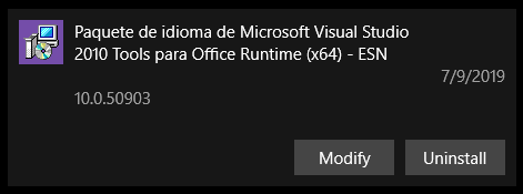 Is [Microsoft Visual Studio 2010 Tools for Office Runtime] safe to