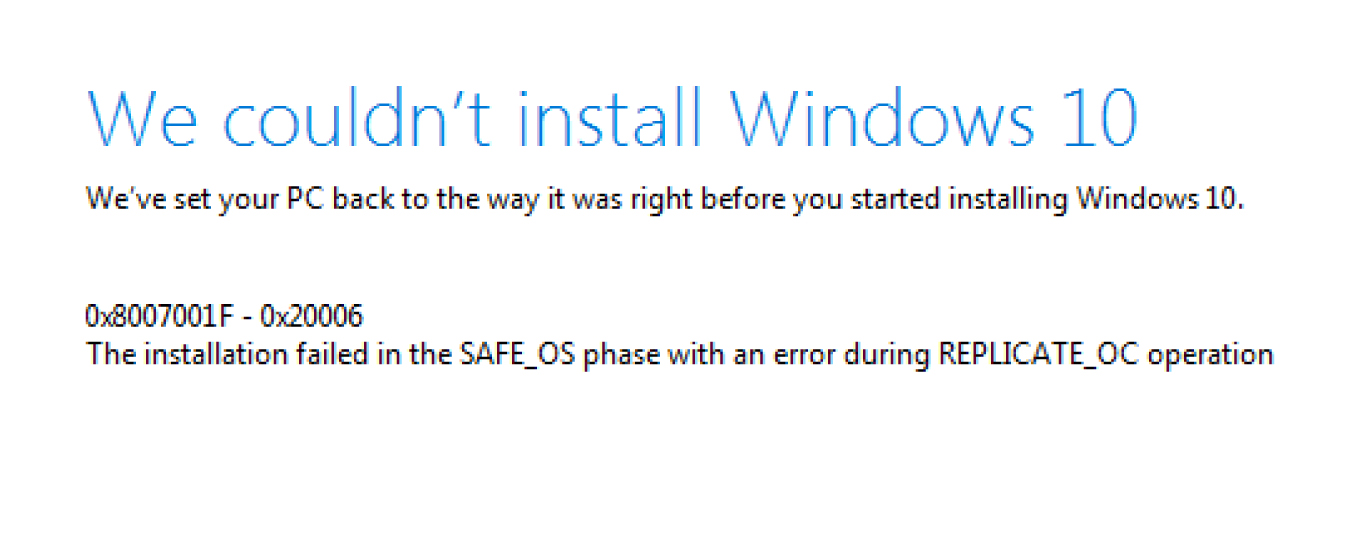 "Windows 10 Update keeps failing - ""0x8007001F - 0x20006"" 377a381f-4639-4ff2-89bb-c75722b08255?upload=true.jpg"