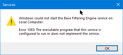 Cannot turn on firewall or start its service! BFE issue not fixed after following steps... 3afd4f6f-91a8-408f-980b-63901d5b353e?upload=true.png
