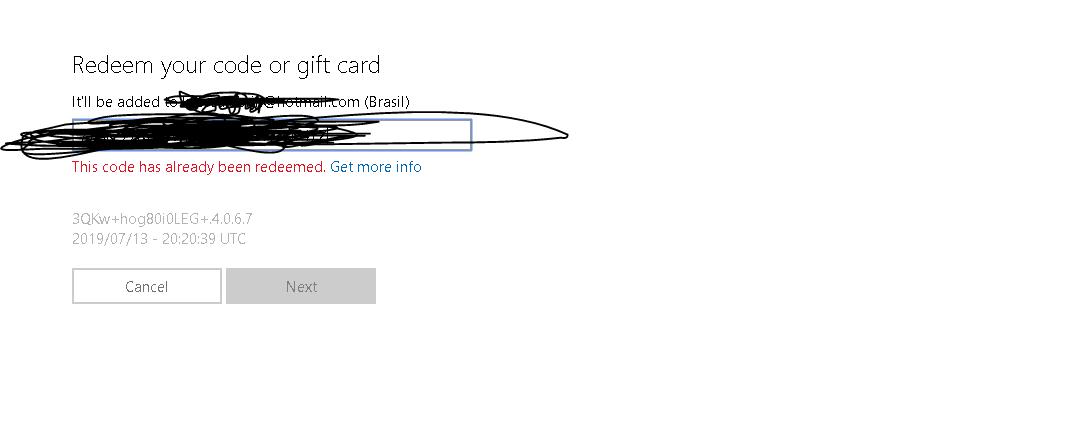 """Lost"" my Minecraft for Windows 10 key 3bfd1e8d-0d76-4279-a1c5-db54f26f014d?upload=true.png"