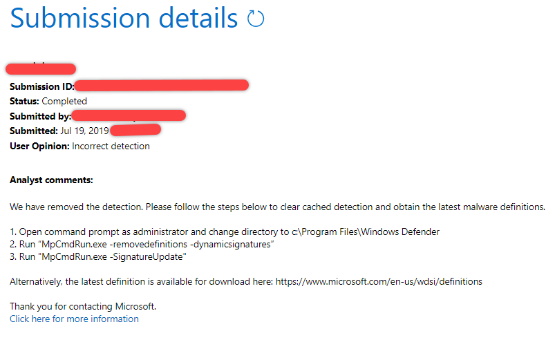 Windows Defender wrongly detect the program 3c0dadeb-1871-4417-be35-d3750f5dfed8?upload=true.png
