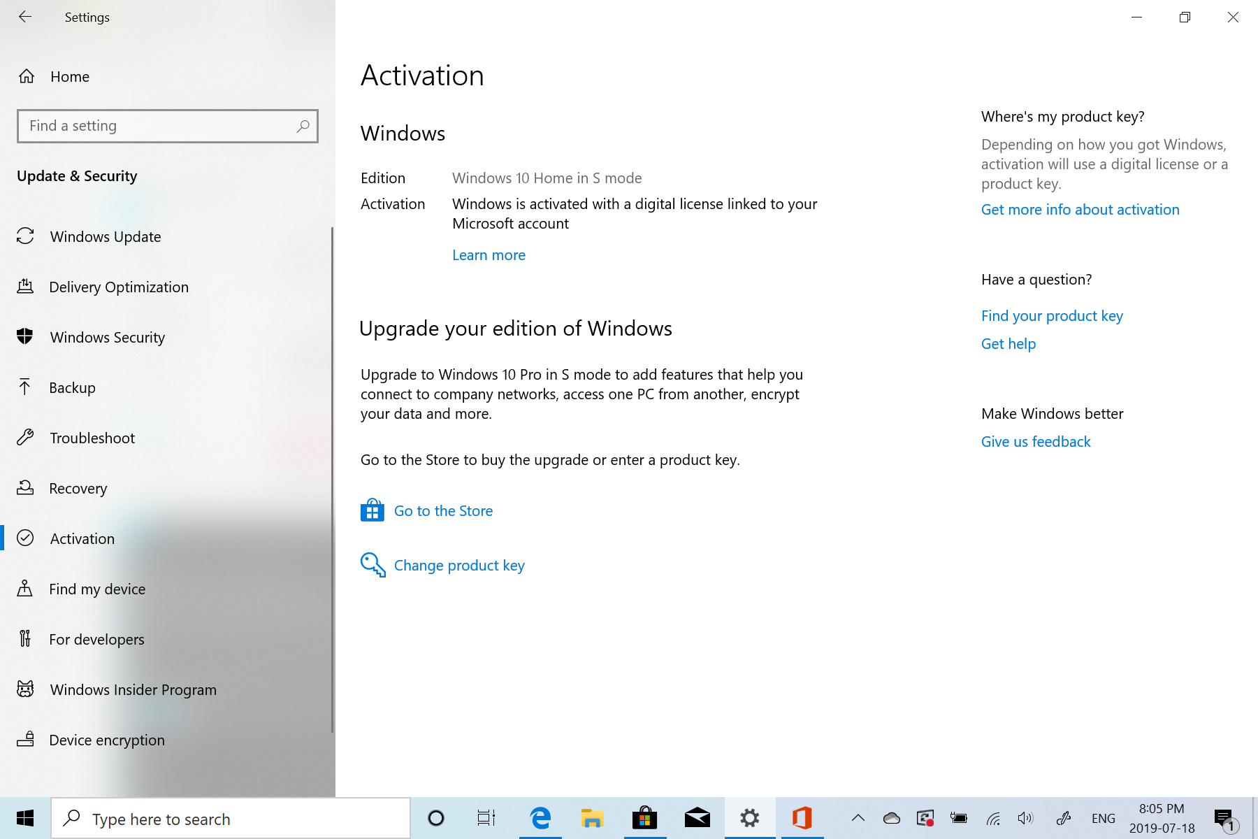 How to Install Office 365 in Windows 10 Home in S mode? 3c2eea26-ea2e-47f3-a745-33727b963619?upload=true.png