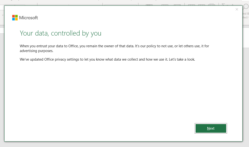 """""""Your data, controlled by you"""" message in Word/Excel 3c43d9a9-e863-4e4d-83bf-befad083a4e9?upload=true.png"""