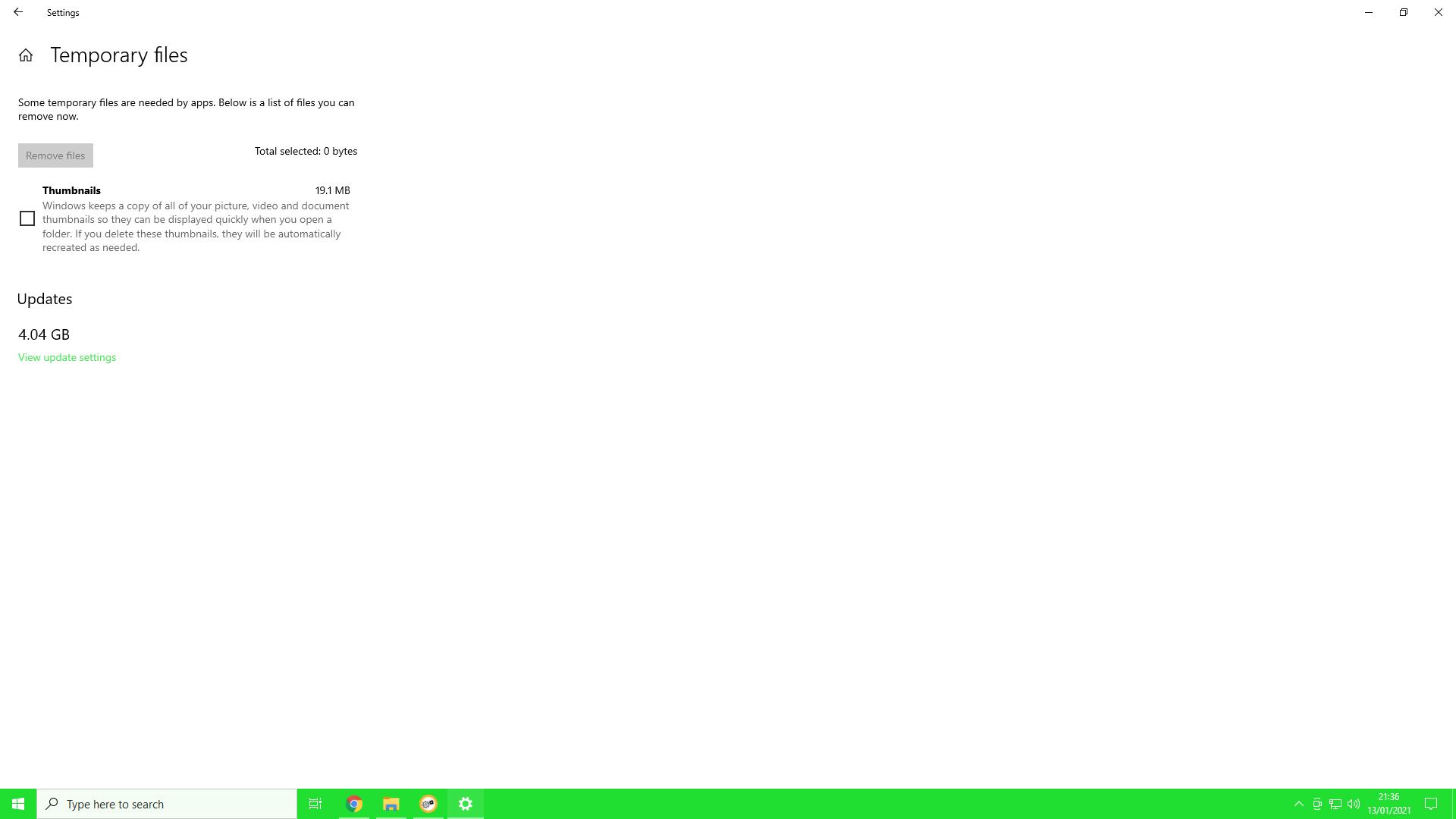 Updates 4.04 GB but SoftwareDistribution folder is empty. 3c633684-8601-4375-aa2a-6bff745f2707?upload=true.png