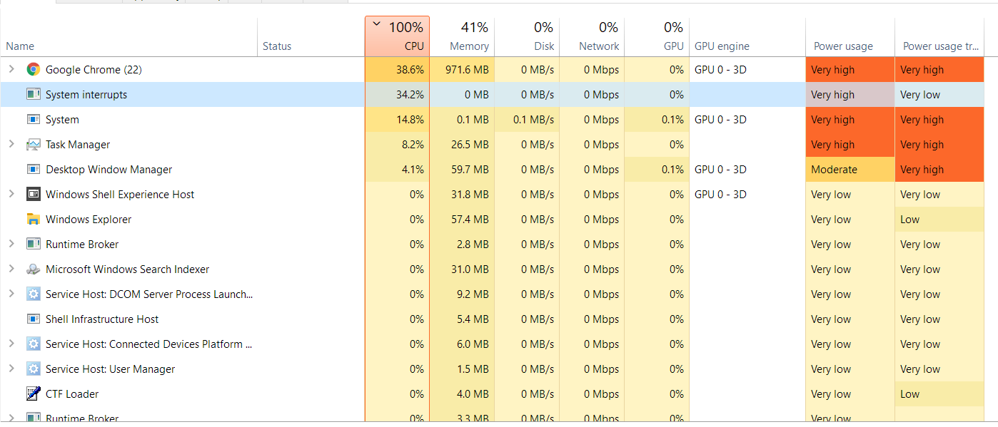 100% CPU usage while on AC power plugged to Surface Pro 5 3d03b8fd-2418-4669-8822-86ecb59ca766?upload=true.png
