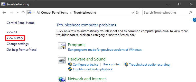 View Recommended Troubleshooting History in Windows 10 3d76c511-33aa-4a2e-9906-b2e9d7409b53?upload=true.png