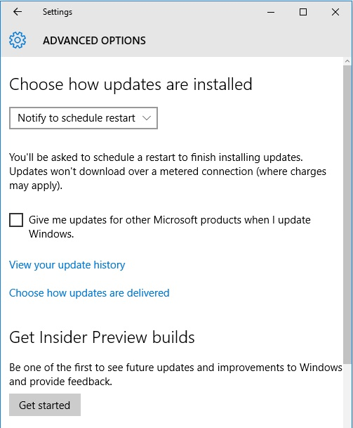 W10 Pro defer updates option is gone. 3de761a8-7082-4f9f-8507-63eab187da72.jpg