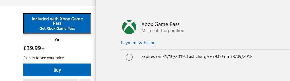Microsoft Store not recognising existing Game Pass subscription - won't start games 3e4cc413-c96d-4ef1-a261-8e59182576fa?upload=true.png