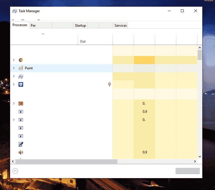 No text in applications
