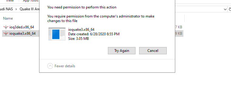 I can't delete files but need permission and can't be fixed help? 4406cb52-7b05-4f3f-96cf-97c44b3de602?upload=true.png