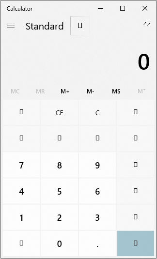 Windows 10 Calculator font missing 441e77d8-4ac0-43a3-9bb9-c4fb4ba3408c?upload=true.png