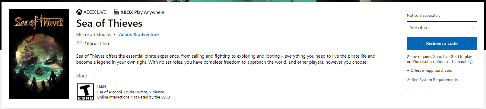 I bought Sea of Thieves but it doesnt say I own it? 44fcd3a4-6d54-4623-b731-154ef375eb10?upload=true.png