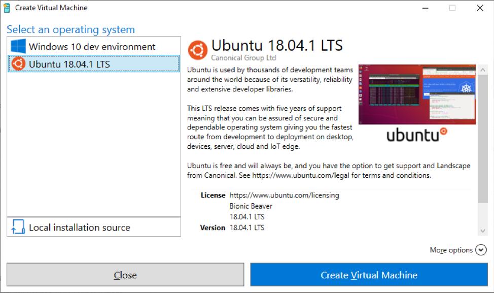 Hyper-V Quick Create - Setup Ubuntu Linux virtual machine 45404f5704e4ff7b53217ff90a5fe49d.png