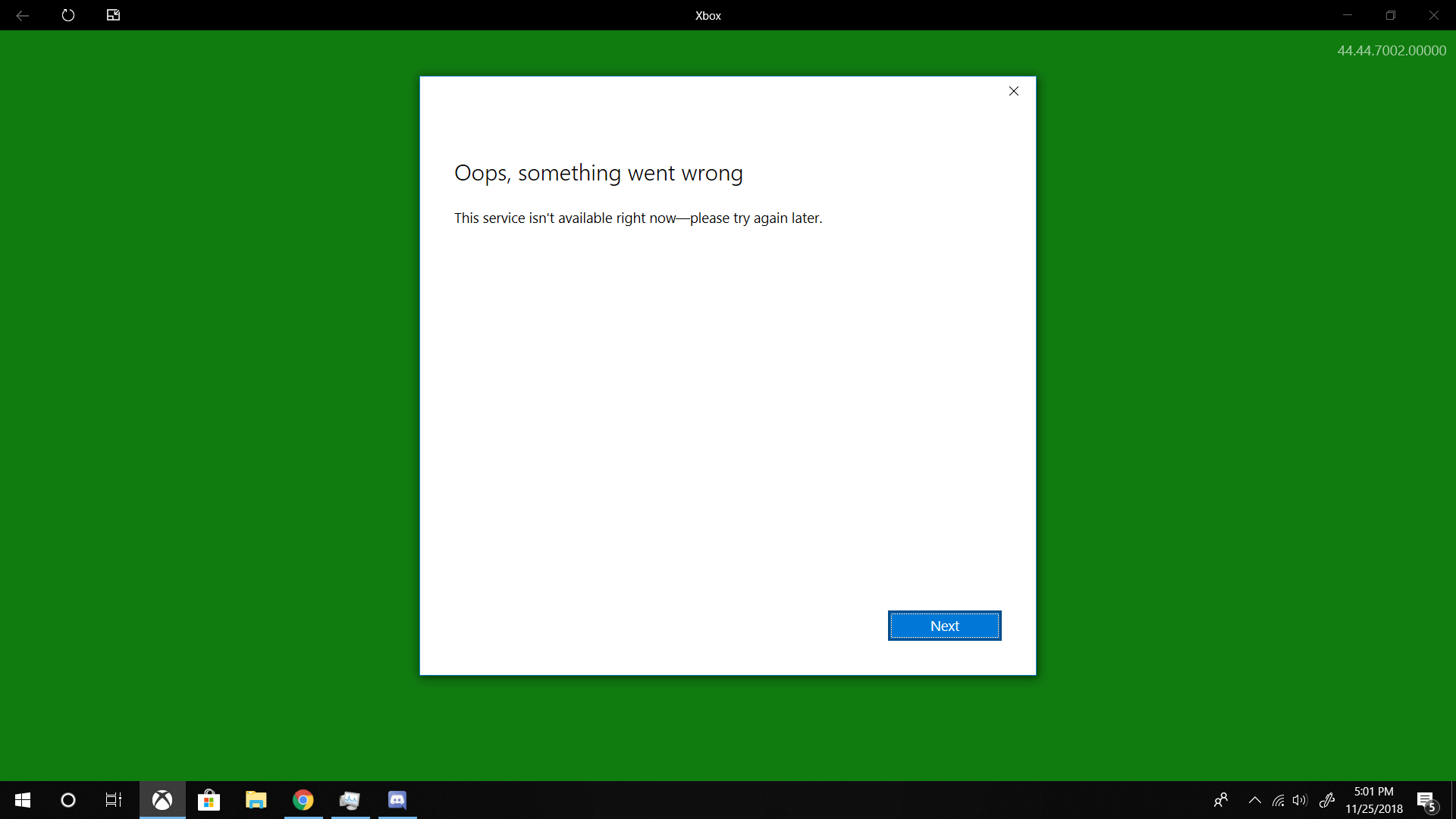 Can't Sign into Xbox App or Play Microsoft Store Games After