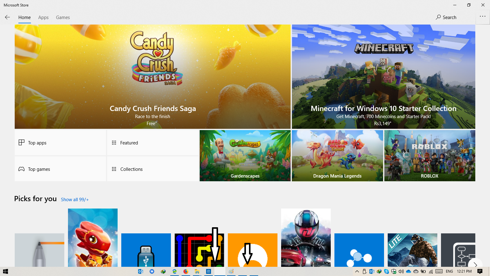 No taskbar icons for Windows Store Apps 49e26d67-ad5a-4f32-88e4-fe5f3c3c94f9?upload=true.png