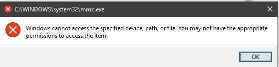 Start Menu can't access the system files after the 1809 Update 4b0452bd-2001-415c-9c94-79116bbe6569?upload=true.jpg