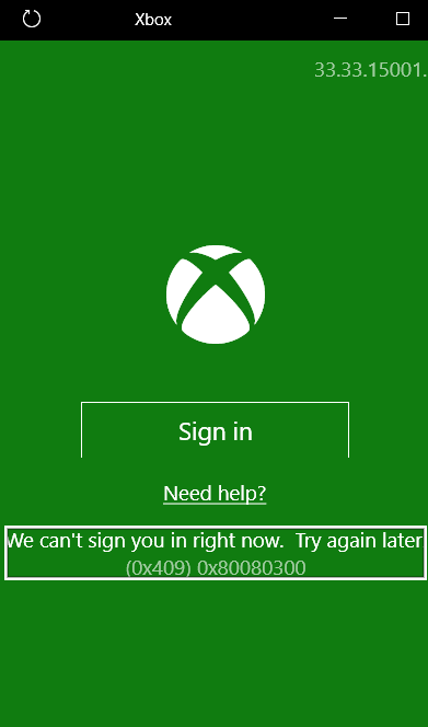 Xbox (0x409) 0x80080300 problem 4b63980c-1eec-4b9b-bf9b-03a77b3bdf51.png