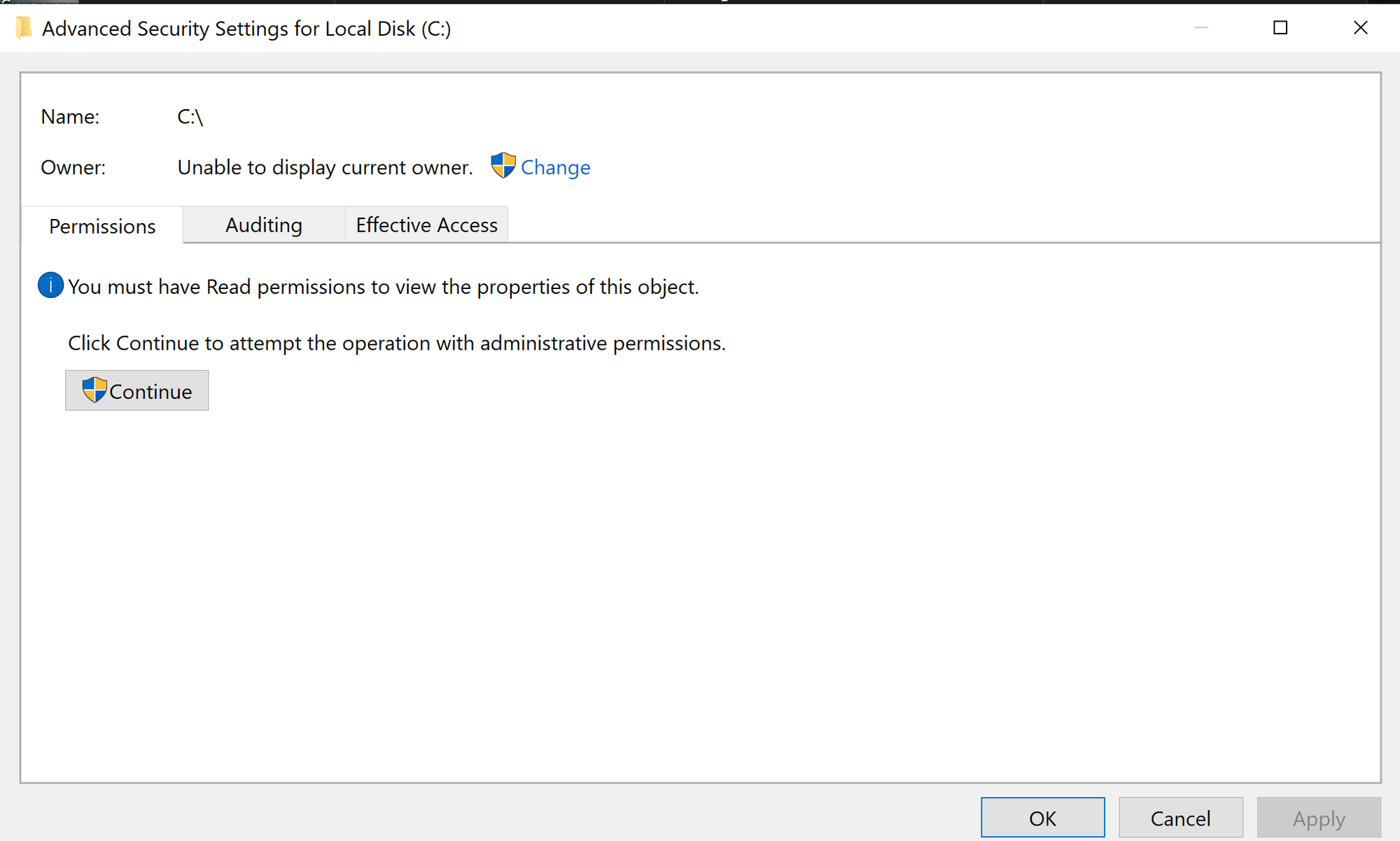 I lost all permission to my laptop windows 10 4b9afd30-cdeb-4630-a4a8-834c5e445789?upload=true.png