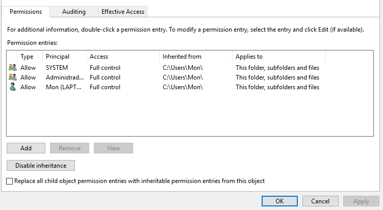 How do I restore Temp folder permissions 4c687569-16c1-4819-9770-2c24ec035463?upload=true.png