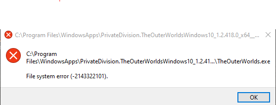 Error while opening The Outer Worlds via Microsoft Store 4dc73f31-98d6-4b95-88c3-cdfea93ae8d7?upload=true.png