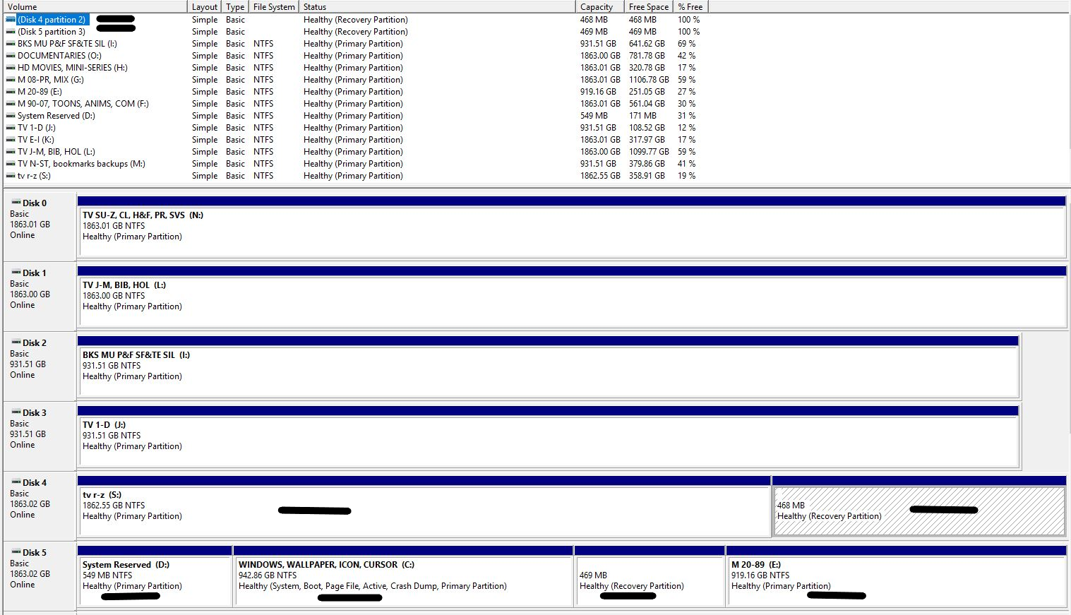 Recovery and EFI partition instead of System Reserved partition 4e755b21-a39d-4d2a-b329-7e1c4173efac?upload=true.png