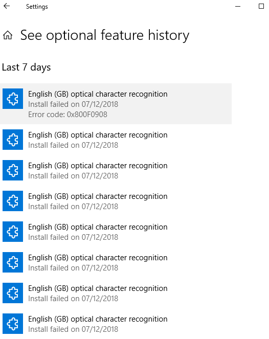 Windows 10 / English (gb) optical character  recognition feature / installation keeps failing 53b70927-f3fb-4c27-83c1-5ec04543e3bb?upload=true.png
