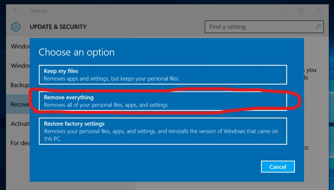 Do I need to reactivate the Windows 10 license key if I reset my PC? 554f7e8e-59b7-4875-8cf3-d41bfc159b9e?upload=true.jpg