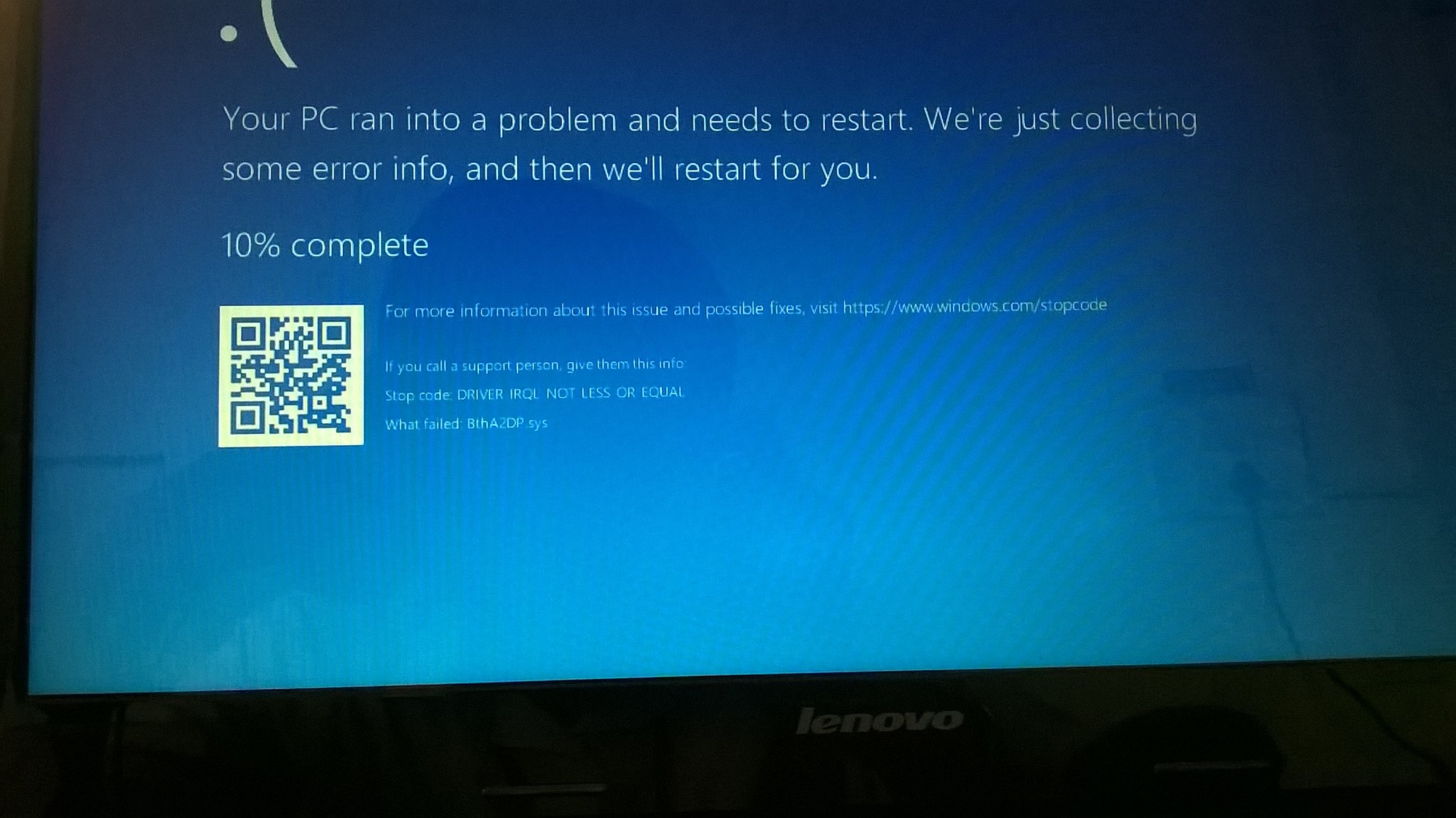 I am facing Blue screen death issue regularly? It is frustrating 55e45176-919e-4262-9afa-d8f3cfebab3e?upload=true.jpg