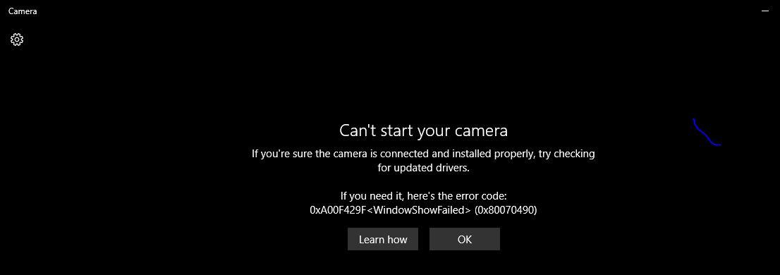 Windows 10 Camera App Error Code - Can't start your camera 57d20ff3-ae22-465b-bdea-709e2d36ddec?upload=true.jpg