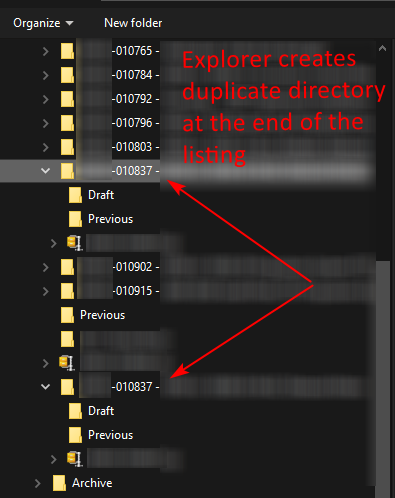 Windows 10 - File Explorer creates duplicate directory on file download 57d66e4f-c657-4085-b2c5-53912f29324f?upload=true.png