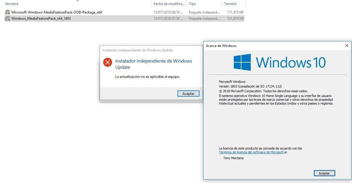 no puedo instalar media feature pack para windows 10 / I can not install media feature pack... 59994c94-a0d3-4123-8c9d-a883df092cf6?upload=true.jpg