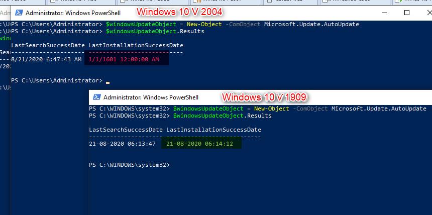 v1909 Update interfering with v2004 update 5a76664d-e1e9-400e-8eea-7ee5cf269166?upload=true.png