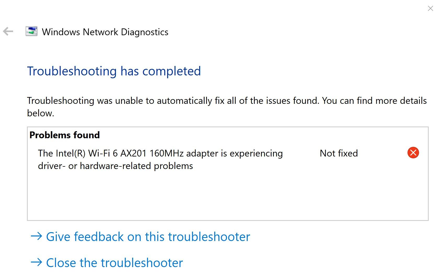 Intel WI FI 6 AX201 160 MHz Experiencing problems 5ac7480d-5d95-45aa-b368-c9e723d26b37?upload=true.jpg