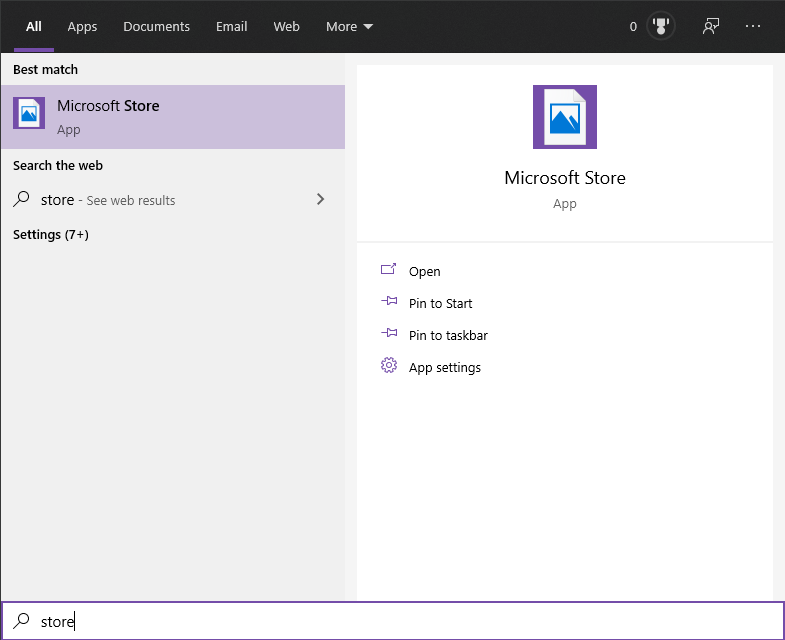 Windows Store apps icons not showing in search bar. 5b69a98a-7de7-4973-9d7d-763f93e9be2b?upload=true.png