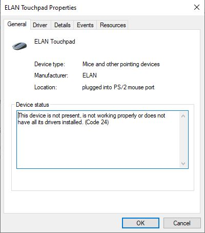 """ELAN Touchpad not working """"device not present"""" on HP laptop 5cfd6898-c3ef-4f83-bb82-024d5c956376?upload=true.jpg"""