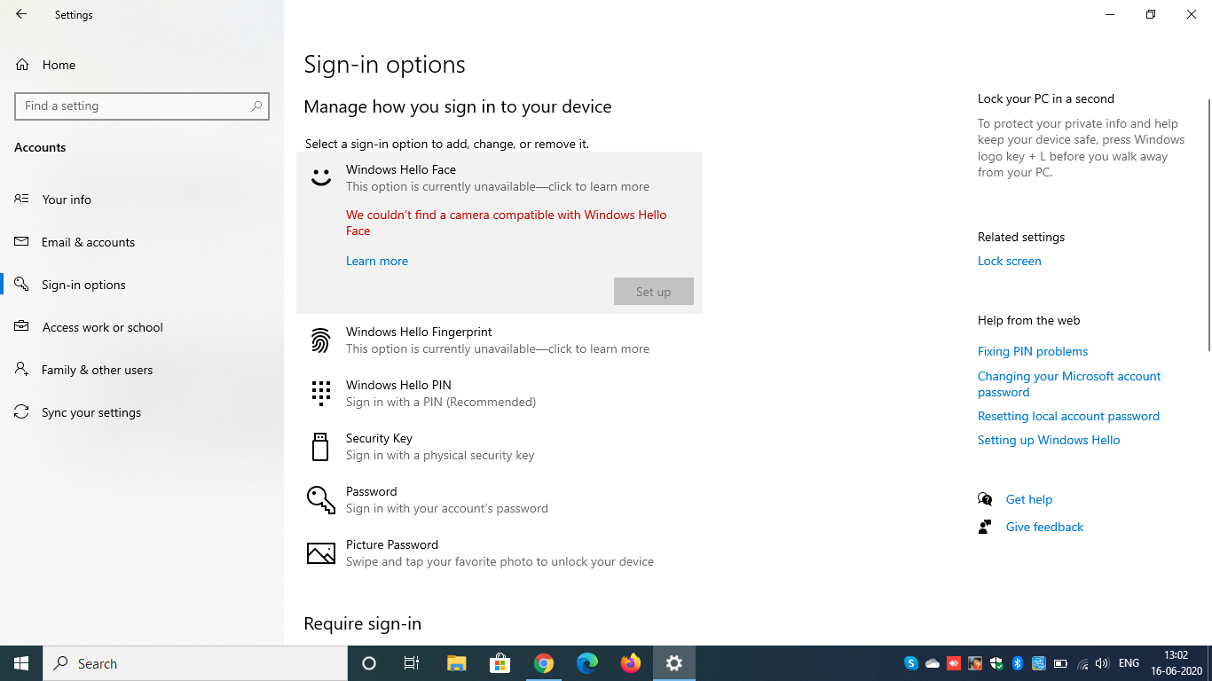 Windows Hello Face is not compatible with camera 5d310d27-376b-40d8-868c-590c86a74457?upload=true.png